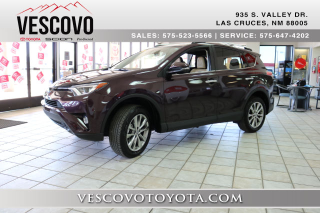 Toyota Rav4 Las Cruces >> Pre-Owned 2016 Toyota RAV4 Limited FWD SUV in Las Cruces ...
